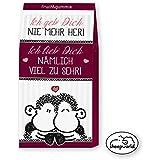 """SHEEPWORLD 43878 Fruchtgummi """"Ich geb' Dich nie mehr her!"""" (Grundpreis: 0,07 €/g)"""