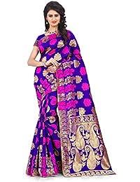 Vatsla Enterprise Silk Saree (Apex103Purple_Purple)