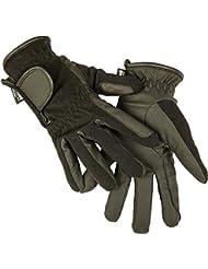 HKM Gant d'équitation hiver imitation cuir