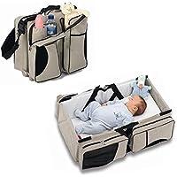 Zanza 3/in 1/Baby Wickeltasche Utility Pouch Reise Stubenwagen wie Carry Kinderbett und Wickelkommode, tragbar, ausziehbar f/ür Windeln f/ür Babys und Kleinkinder