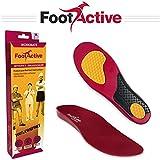 FootActive WORKMATE - Soporte del puente y amortiguación para el pie excelentes para personas que pasan todo el día de pie
