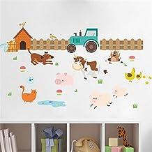 Amazon.es: vinilos infantiles animales granja