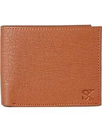 Styler King Men Tan Artificial Leather Wallet(6 Card Slots) - B07D9T8ZXP