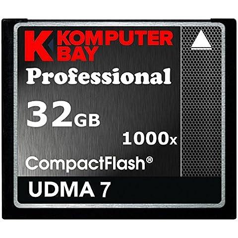 Komputerbay 32GB professionale 1000x CF COMPACT FLASH