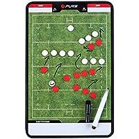 Pure2Improve p2i100670Accesorio de Entrenamiento de Rugby Unisex, Verde/Blanco