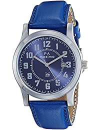 Maxima Analog Blue Dial Men's Watch-O-46861LMGI