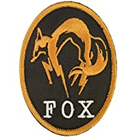 Metal Gear Solid Fox Hound Ground Zeroes PS4 Xbox Cosplay Embroidered Hook&Loop Patch