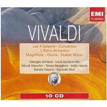 Vivaldi : Les 4 Saisons / Concertos / L'Estro Armonico / Magnificat / Gloria / Stabat Mater (Coffret 10 Cd)
