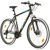 """Bikesport THUNDER Bicicletta Mountain Bike Uomo 27,5"""", Shimano 21 cambios (Nero Opaco, L)"""