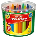 Crayola My First Crayola - Cubo de 24 ceras de colores