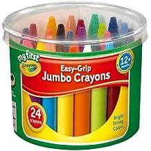 Crayola My First Crayola - Cubo de 24 ceras de colores