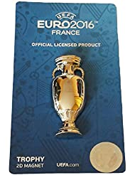 Magnet 2D Réplique Trophée Euro 2016 de Football France - Collection officielle