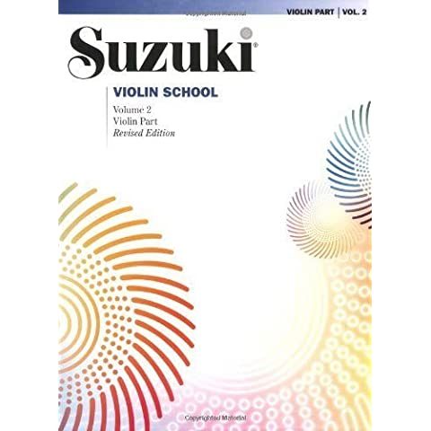 Suzuki Violin School Violin Part Vol.2 Rev. Edition
