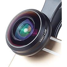MIAO LAB HD Universal Wide Angle Fisheye Lens 238 ° Clip di Vista sul Kit Cellulare Kit per lenti per iPhone 6 / 6S Plus SE Samsung Galaxy S7 / S7 Edge S6 e S6 Edge S8 e la maggior parte Smartphone Nessun cerchio scuro