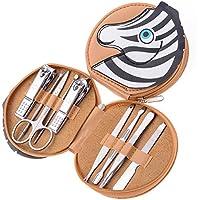 Set de Aseo de 9 Piezas de Acero Inoxidable para uñas, Foto