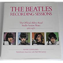 BEATLES RECORDING SESSIONS