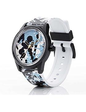 Q&Q SmileSolar Unisex Solar Uhr mit Plastik armband Analog Quarz RP00J022