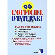 OFFICIEL INTERNET 1996. 2ème édition
