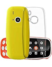 Thundershoppe Transparent Mobile Silicon Back Cover for Nokia 3310