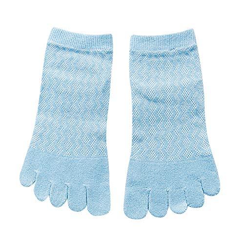 Socken für Frauen Baumwolle Fünf Finger Socken Laufsöckchen Lustige Socken Bunt/Volltonfarbe