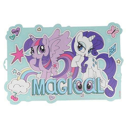 Tischset My Little Pony Sticker Linsenraster