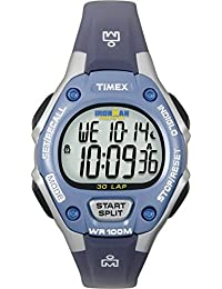 Timex Unisex-Armbanduhr Quartz mit Digitalem Display and Blauem Armband T5K018