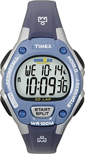 timex-unisex-quartz-watch-with-lcd-dial-digital-display-and-blue-resin-strap-t5k018