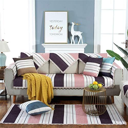 Divano asciugamano, ciniglia divano cuscino four seasons universale semplice e moderno tessuto antiscivolo soggiorno copridivano per divano a tre posti