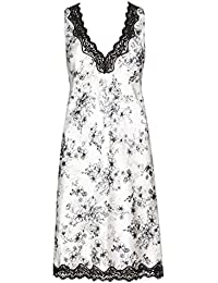 Size 8//10. Ladies Famous Make Sleeveless Green /& Lilac Floral Nightdress