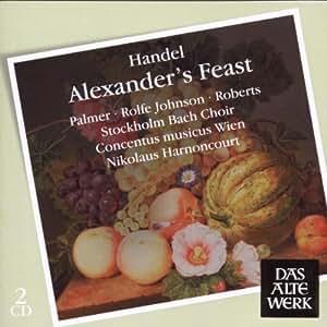 Alexander's Feast & Concerto grosso F major,op.3 No.4a