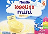 Nestlé Yogolino Postre lácteo Mini Natillas - Para bebés a partir de 6 meses - Paquete de 8x6 tarrinas de postre lácteo de 60g