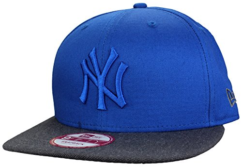 "Casquette New Era New York Yankees Snapback Cap ""POP TONAL"" en royal/grey 
