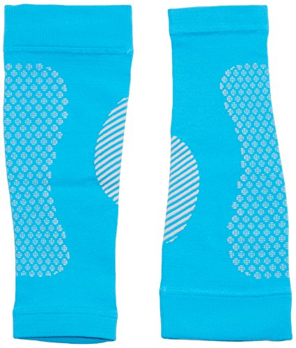 Full Force Compression Calfs, Fasce di compressione per polpacci // Calf Sleeves per Corsa, Ciclismo, Triathlon, Fitness, Atletica Leggera, Sport, Crossfit, Viaggi azzurro, M