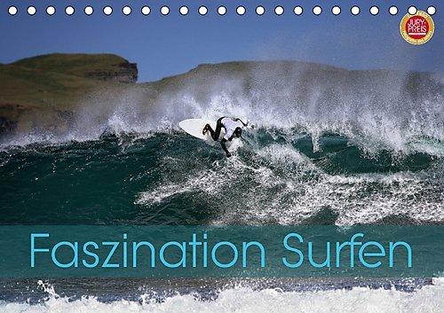 Faszination Surfen (Tischkalender 2017 DIN A5 quer): Faszination Surfen, eingefangen in atemberaubenden Bildern (Monatskalender, 14 Seiten ) (CALVENDO Hobbys)