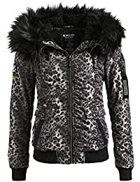 Steppjacke leoprint