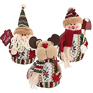 3 Piezas de Papá Noel