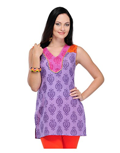 Yepme Women's Purple Cotton Kurti-YPMKURT0841_S