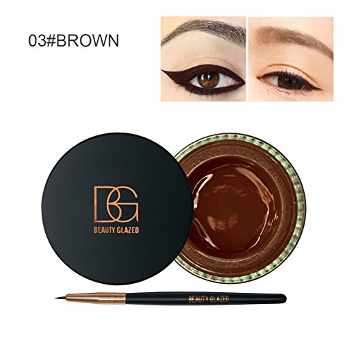 SYMEAS double usage Gel Eyeliner gel sourcils Set Eye-liner imperméable maquillage cosmétique