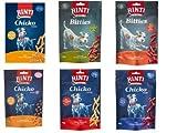 RINTI EXTRA Chicko Mini Snack Mix Pack 6er Pack für kleine Hunde