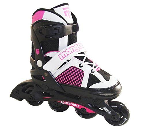 Mongoose Girl 's Inline Skate, Rose (Razor-roller Für Mädchen)