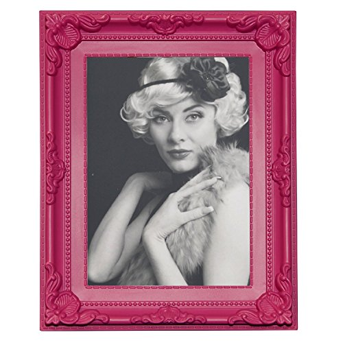 WOLTU Bilderrahmen Foto Galerie Bild Rahmen Bilder Collage Barock 6 Farben in 5 Größen (Pink, 10X15)