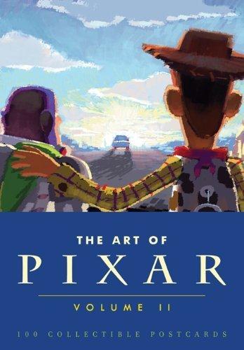 The Art of Pixar, Volume II: 100 Collectible Postcards by Pixar (2012) Card Book
