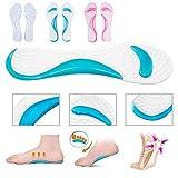 Msmask Fußschutz Fersenkissen Fusspflege Schuheinlage Pad Einlegesohlen Ganzkörper Fuß