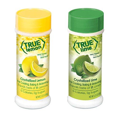True Citrus Schüttler Kit Echte Zitrone und True Kalk (2,85 Unzen pro Stück) von True Lemon