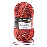Schachenmayr 9801421-02087 Pelote de laine à tricoter à la main Laine Couleur Vesuv 15 x 7 x 7 cm