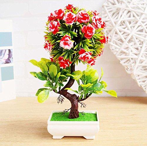 Newsbenessere.com 51A-8imuEWL Alberi artificiali decorativi con la fioritura Bonsai moderna del Feng Shui simulazione fiori albero (Multi-color multi-stile),WB3056 , #30