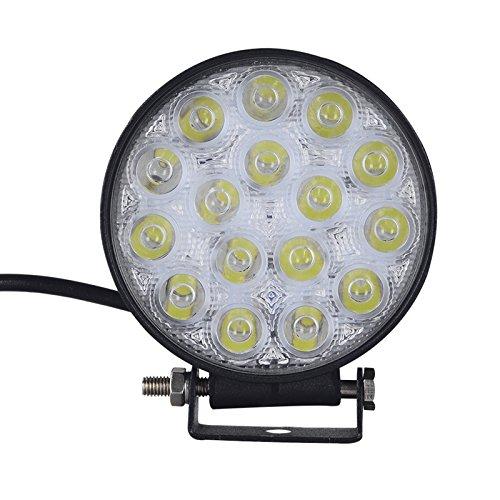 Preisvergleich Produktbild *Super Leistung * 2 Stk,48W LED Lampe square Scheinwerfer kaltweiß Spot IP67 Arbeitsscheinwerfer