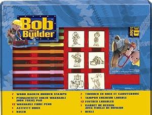 noris - Tampón para sellos Bob El Constructor Importado de Alemania