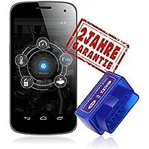 Ldex Bluetooth Diagnose Scanner OBD 2 Android CAN BUS Interface Diagnosegerät funktioniert bei allem PKWs KFZs
