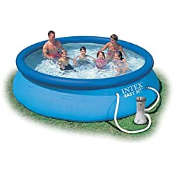 Intex - Piscina hinchable Intex easy set 366x76 cm - 5.621 litros - 28132NP